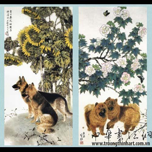 Tranh Chó - Mã: TMTC005