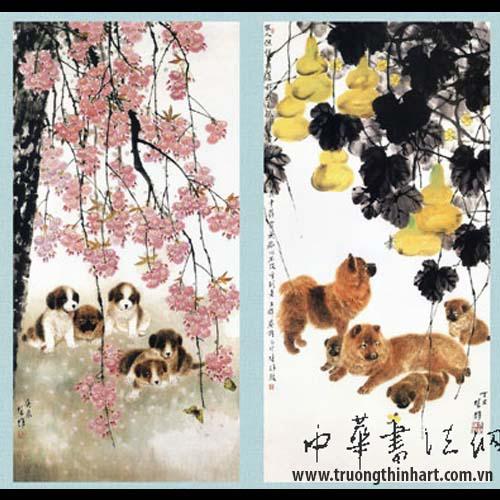Tranh Chó - Mã: TMTC006
