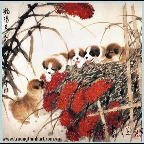 Tranh Chó - Mã: TMTC007