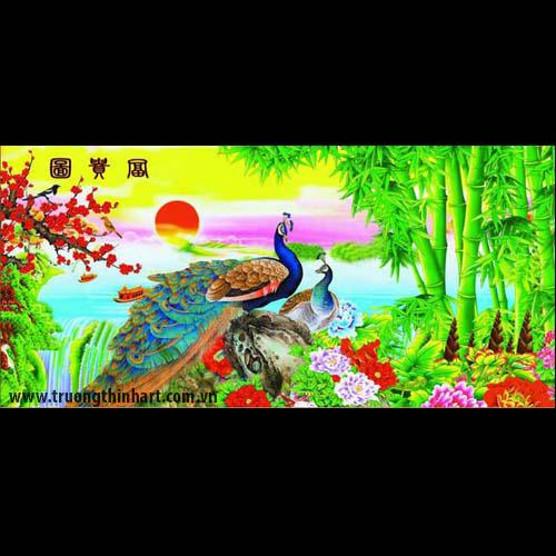 Tranh Công - Mã: TMTCONG008