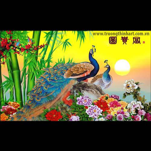 Tranh Công - Mã: TMTCONG011