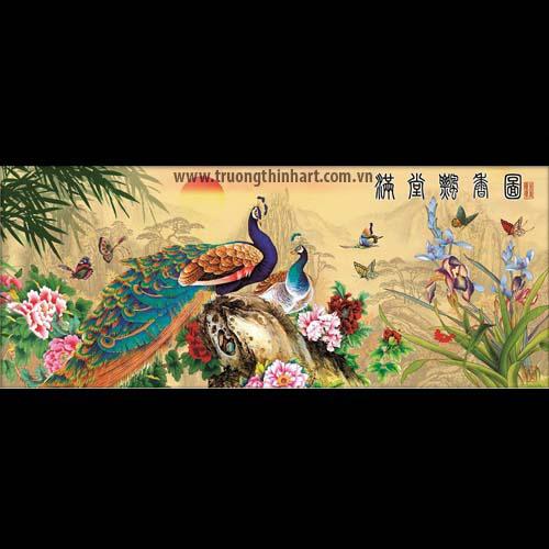 Tranh Công - Mã: TMTCONG014
