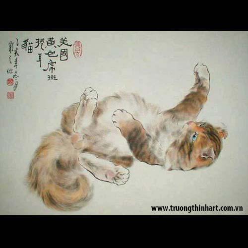Tranh Mèo - Mã: TMTMEO003