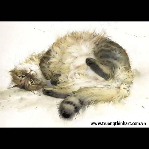 Tranh Mèo - Mã: TMTMEO004