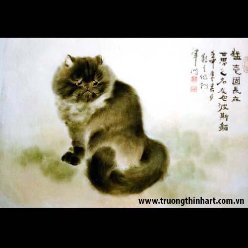 Tranh Mèo - Mã: TMTMEO005