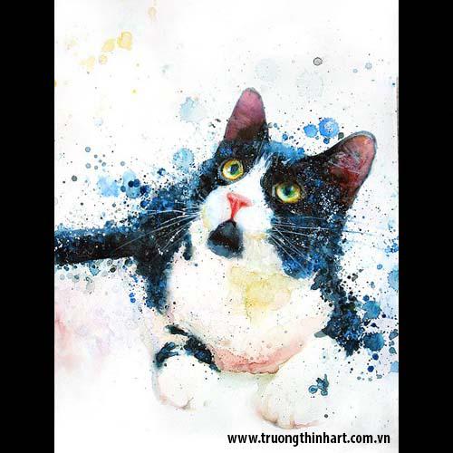 Tranh Mèo - Mã: TMTMEO006