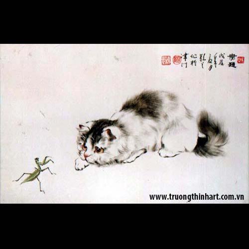 Tranh Mèo - Mã: TMTMEO007