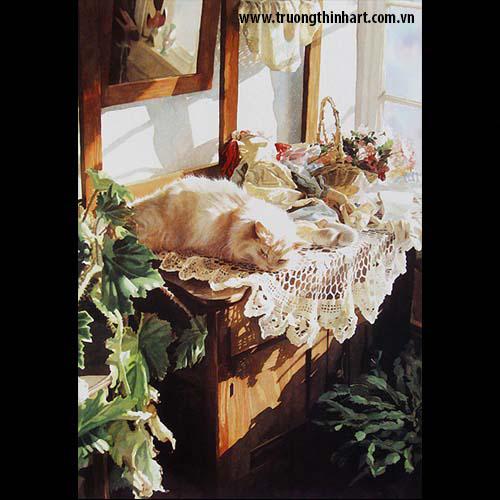 Tranh Mèo - Mã: TMTMEO008