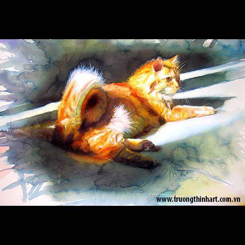 Tranh Mèo - Mã: TMTMEO009