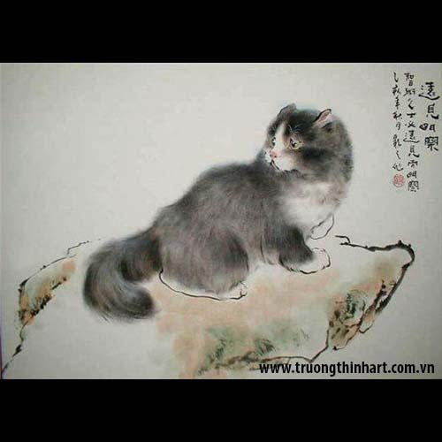 Tranh Mèo - Mã: TMTMEO010