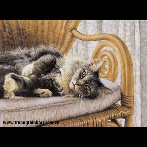 Tranh Mèo - Mã: TMTMEO011