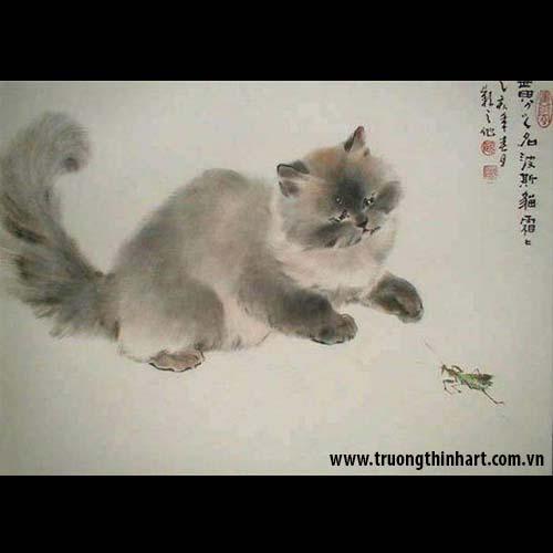 Tranh Mèo - Mã: TMTMEO012