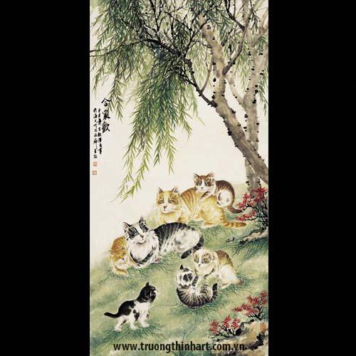 Tranh Mèo - Mã: TMTMEO015