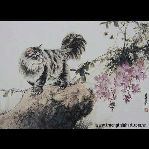 Tranh Mèo - Mã: TMTMEO016