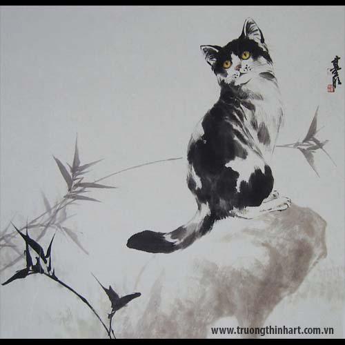 Tranh Mèo - Mã: TMTMEO017