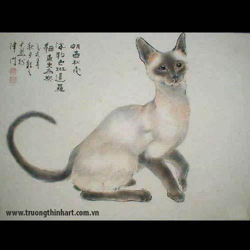 Tranh Mèo - Mã: TMTMEO018