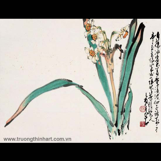 Tranh hoa cỏ và côn trùng - Mã: TMTHCVCT017