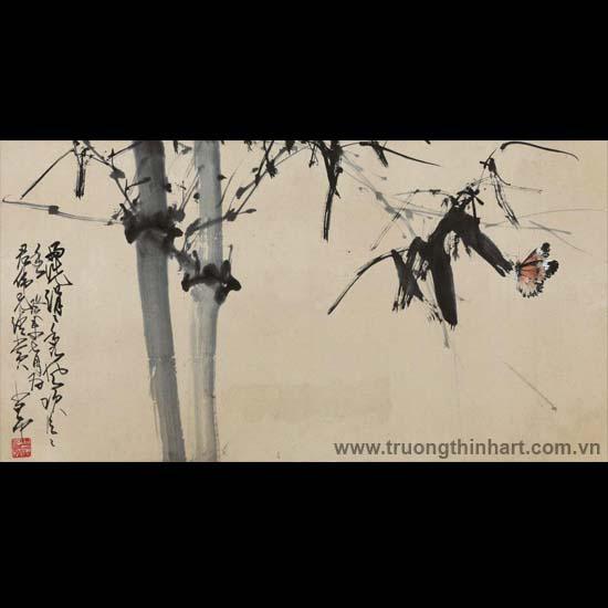 Tranh hoa cỏ và côn trùng - Mã: TMTHCVCT018