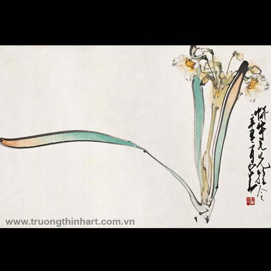 Tranh hoa cỏ và côn trùng - Mã: TMTHCVCT026