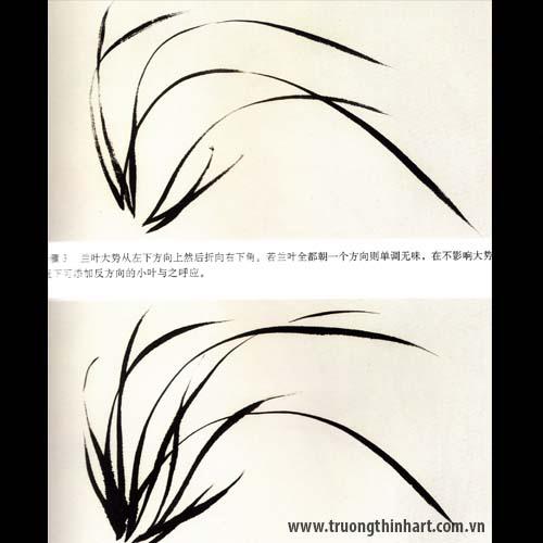 Tranh hoa Lan - Mã: THL013