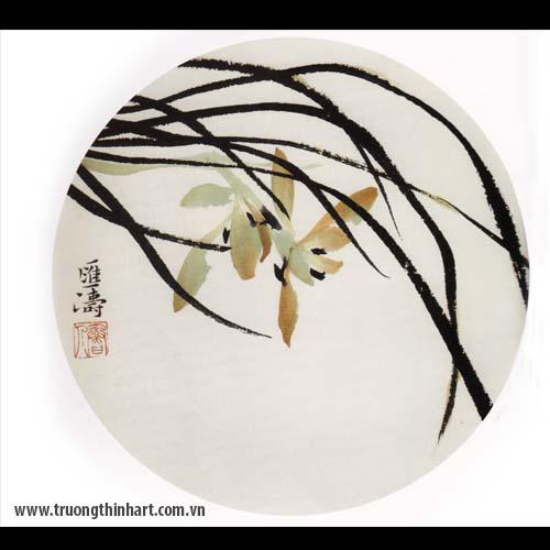 Tranh hoa Lan - Mã: THL015