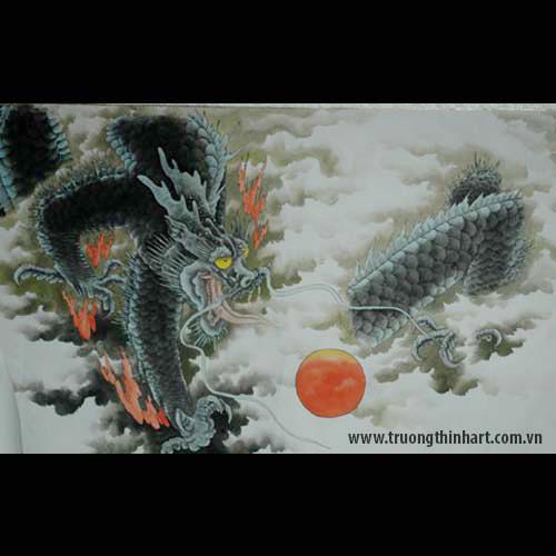 Tranh Rồng - Mã: TMTRONG001