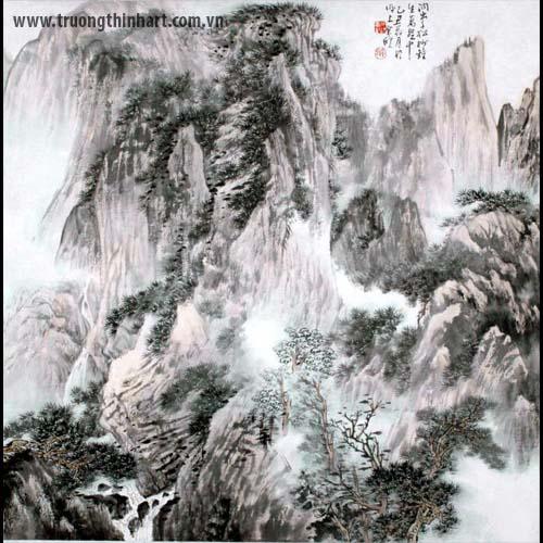 Tranh Sơn Thủy - Mã: TMTST001