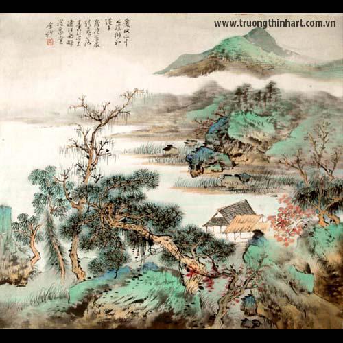 Tranh Sơn Thủy - Mã: TMTST003
