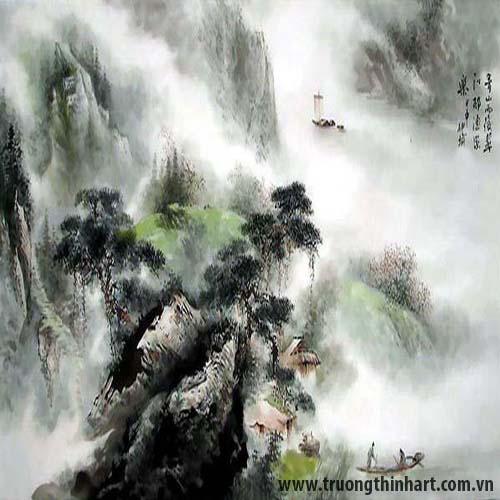 Tranh Sơn Thủy - Mã: TMTST004