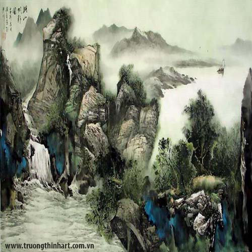 Tranh Sơn Thủy - Mã: TMTST005