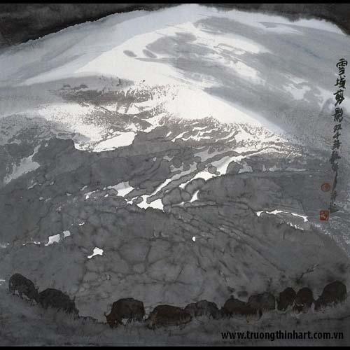 Tranh Sơn Thủy - Mã: TMTST008