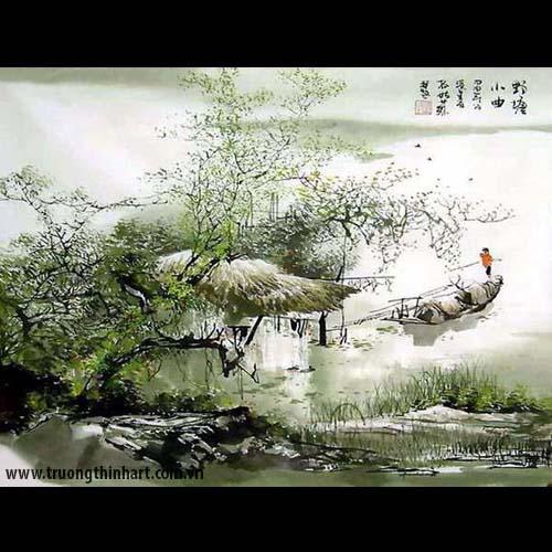 Tranh Sơn Thủy - Mã: TMTST009