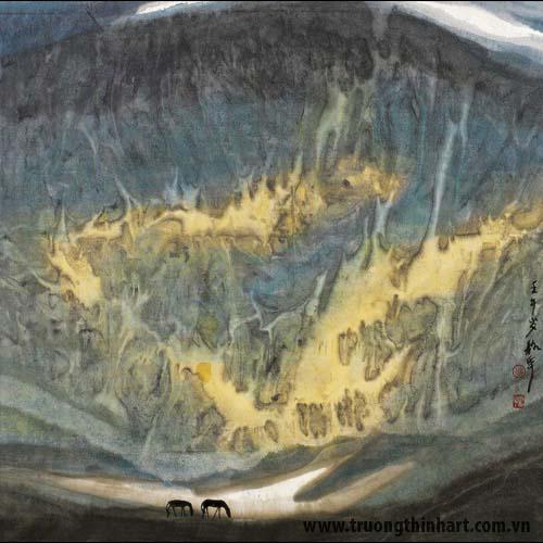 Tranh Sơn Thủy - Mã: TMTST011