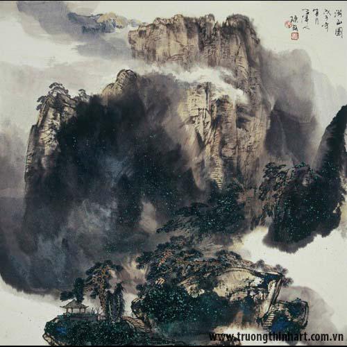 Tranh Sơn Thủy - Mã: TMTST013