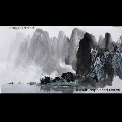 Tranh Sơn Thủy - Mã: TMTST015