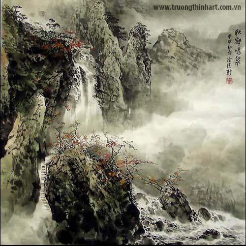 Tranh Sơn Thủy - Mã: TMTST016