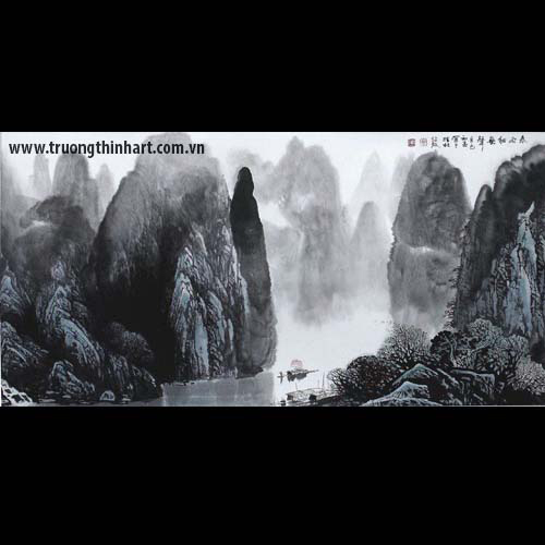 Tranh Sơn Thủy - Mã: TMTST019
