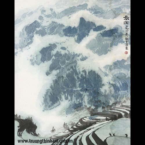 Tranh Sơn Thủy - Mã: TMTST020
