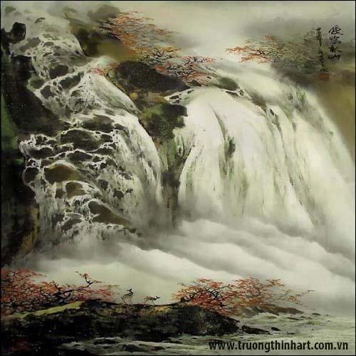 Tranh Sơn Thủy - Mã: TMTST021