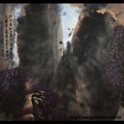 Tranh Sơn Thủy - Mã: TMTST023