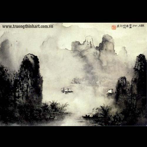 Tranh Sơn Thủy - Mã: TMTST024