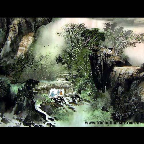 Tranh Sơn Thủy - Mã: TMTST025