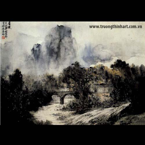 Tranh Sơn Thủy - Mã: TMTST027