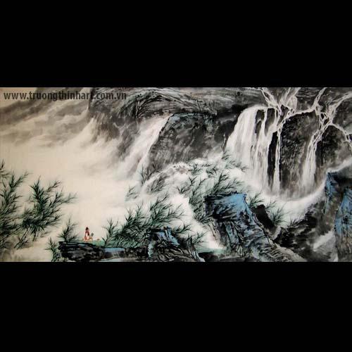 Tranh Sơn Thủy - Mã: TMTST028