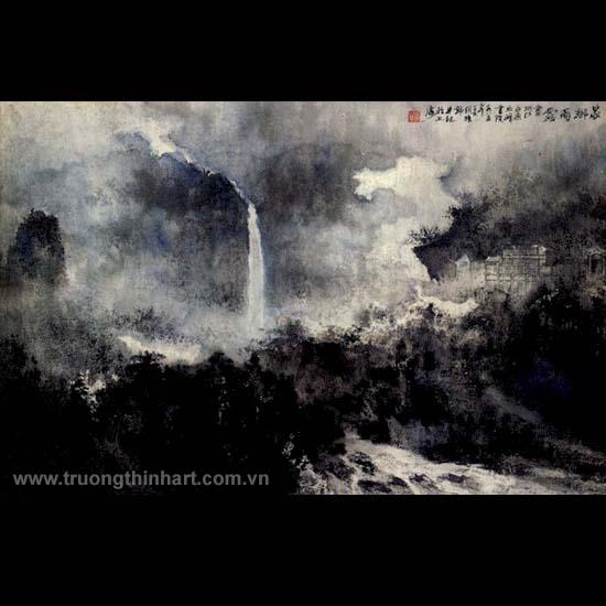 Tranh Sơn Thủy - Mã: TMTST029