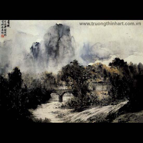 Tranh Sơn Thủy - Mã: TMTST030