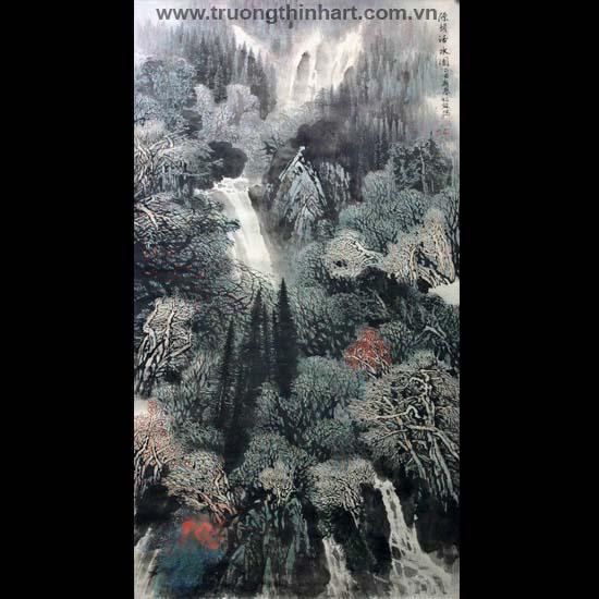 Tranh Sơn Thủy - Mã: TMTST033
