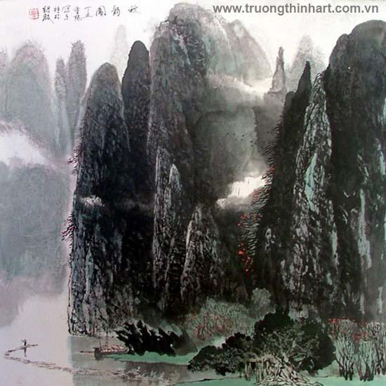 Tranh Sơn Thủy - Mã: TMTST037