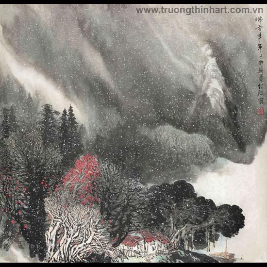 Tranh Sơn Thủy - Mã: TMTST038
