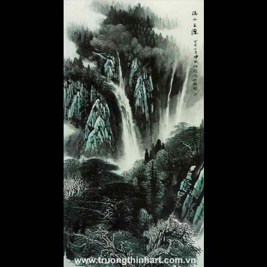 Tranh Sơn Thủy - Mã: TMTST040